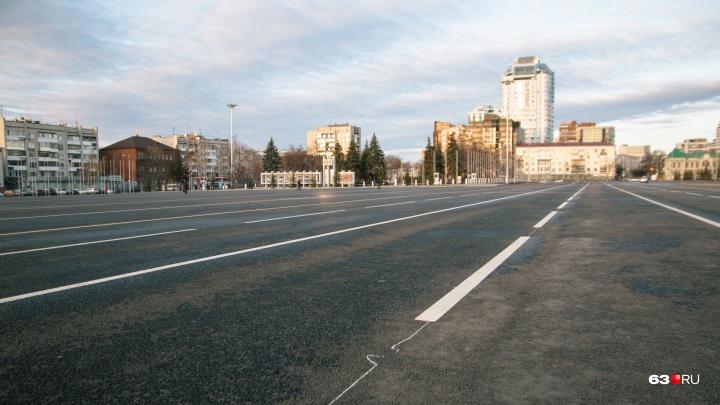 В декабре на площади Куйбышева откроют каток