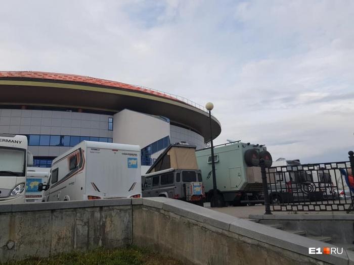 Путешественники пробудут в Екатеринбурге два дня