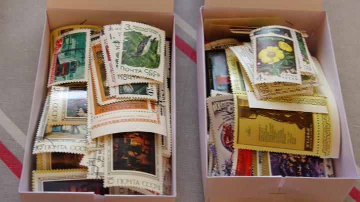 Красноярец продаёт огромную коллекцию марок с экземплярамиXIX века