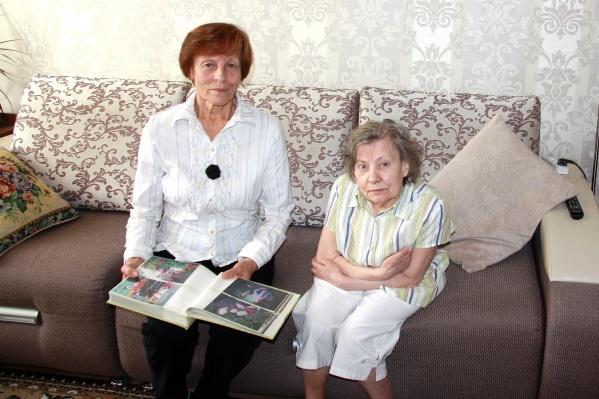 Фаина Игнатюк и Эмилия Игнатова