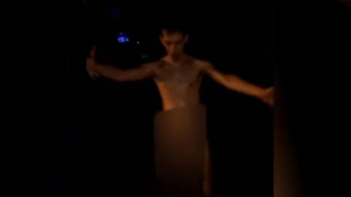 Голые юноши искупались в одном из фонтанов в Башкирии
