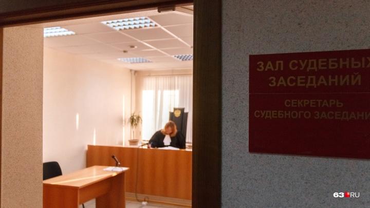 В Самаре оштрафовали вандала, который осквернил дверь дома купца Алексея Егорова