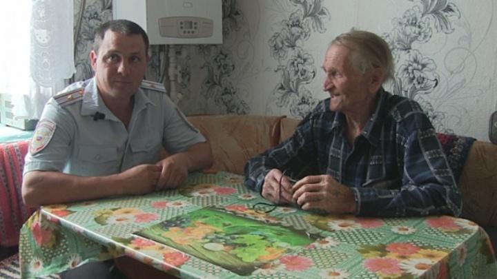 Не бросил в беде: полицейский спас утопающего пенсионера в Башкирии