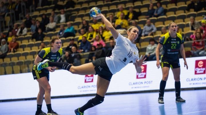 Ростовские гандболистки одолели соперниц из Швеции