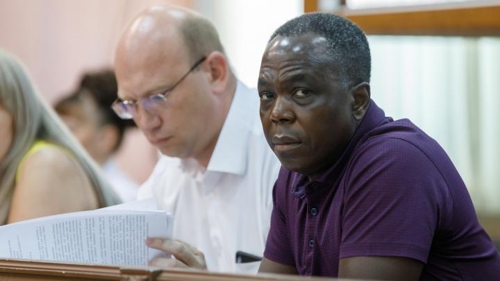 «За истечением срока давности»: Волгоградский областной суд освободил Марсело Нтире