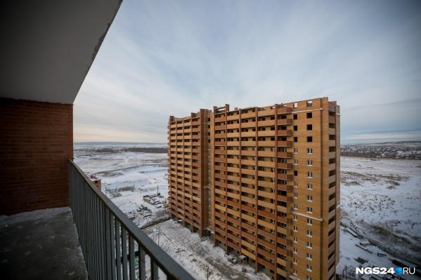 Без квартир остались 1300 жителей Красноярска