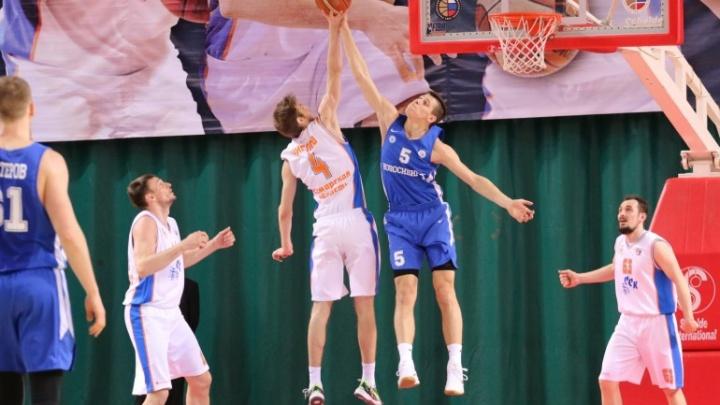 Баскетбол: БК «Новосибирск» снова проиграл БК «Самара»