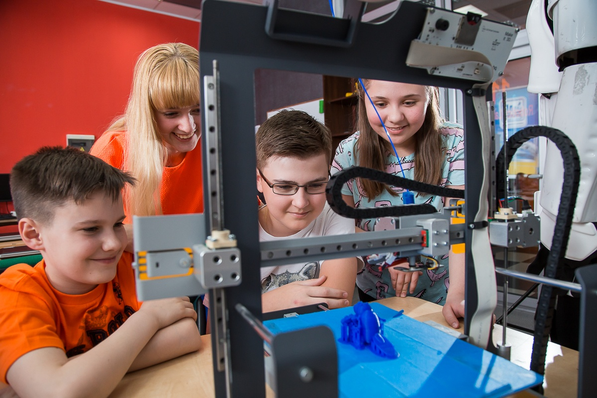 «Компьютерная Академия Шаг» провела для детей мастер-класс, посвященный созданию 3D-персонажей