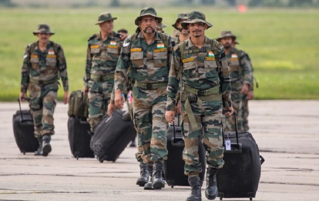 В аэропорту Волгограда высадились 200 солдат из Индии