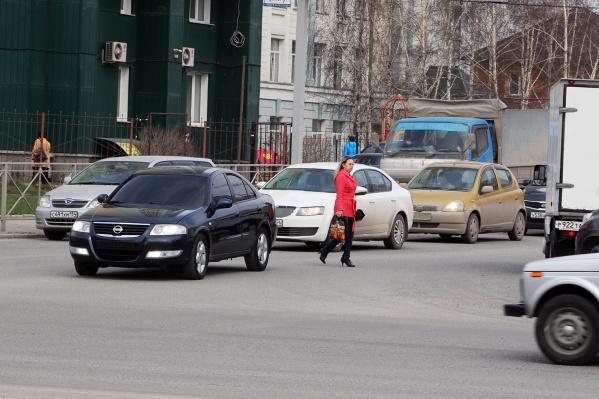 Акцию проводили из-за участившихся ДТП с пешеходами
