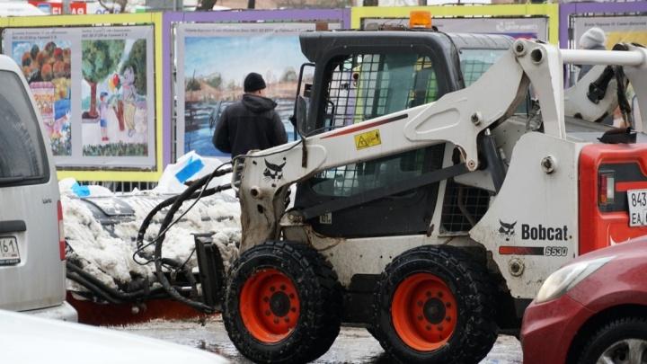 70 административных дел: в Ростовской области начали штрафовать за плохую уборку снега и наледи