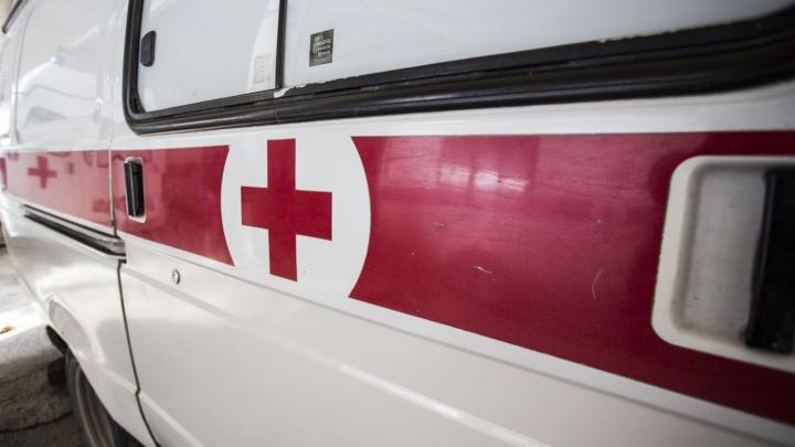 В Первомайском районе подросток на иномарке врезался в гараж