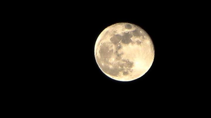 Фото дня: «Фантастическая луна»