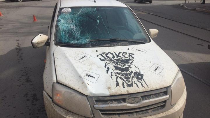 В центре Самары 19-летняя девушка угодила под колёса «Гранты»