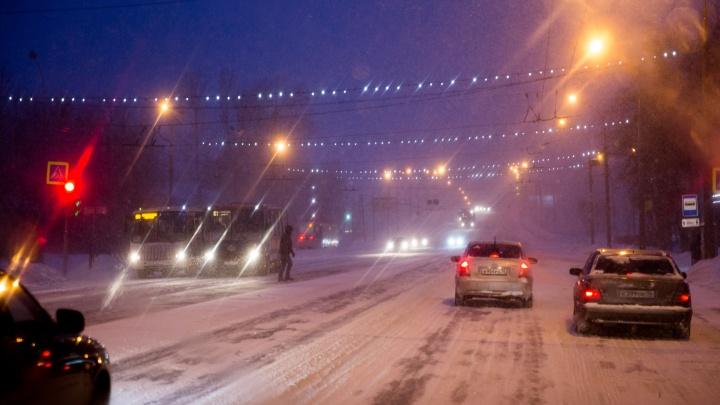«Режим повышенной готовности»: Ярославль попадет в эпицентр снегопада в час пик