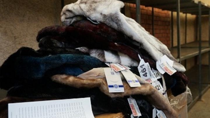Тюменские предприниматели попытались провезти 75 меховых шуб, но их задержали в Рощино