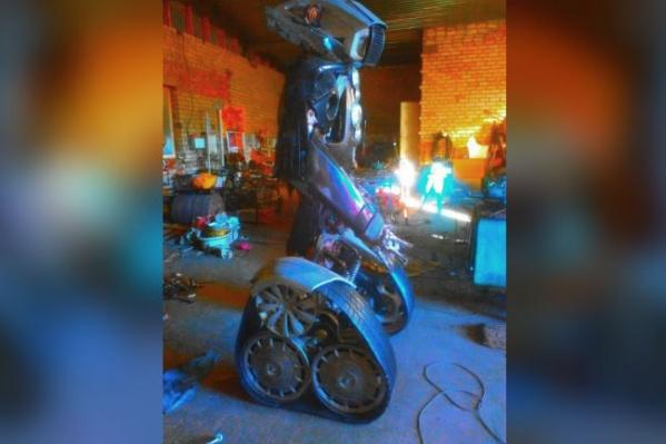 Необычная скульптура появится в Стерлитамаке в ближайшие дни