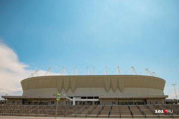 Спортивные объекты появятся недалеко от «Ростов Арены»