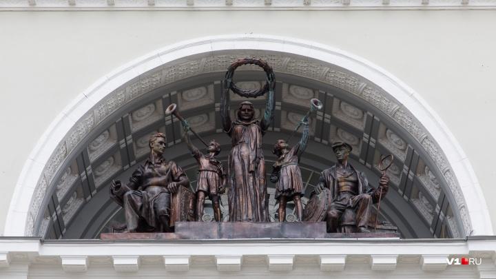 «Балка бы не выдержала»: волгоградский «Апофеоз труда» заменили новоделом из-за последствий теракта
