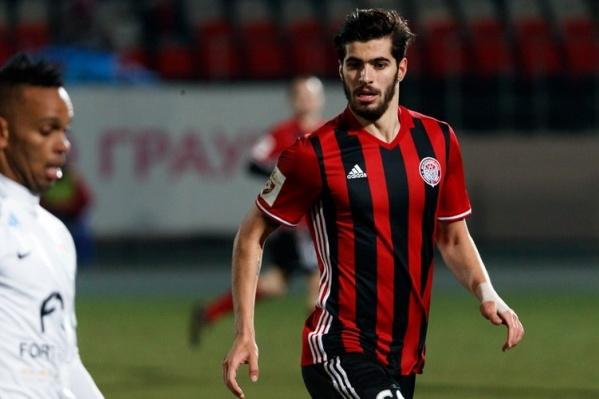 В прошлом сезоне Эззатоллахи играл за пермский «Амкар»