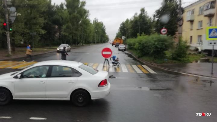 Добрынинский мост в Ярославле закрыт из-за обвала: как пойдёт общественный транспорт