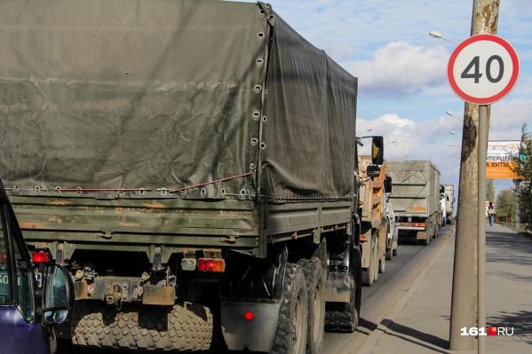 С середины июня грузовики не смогут ездить по улице Таврической