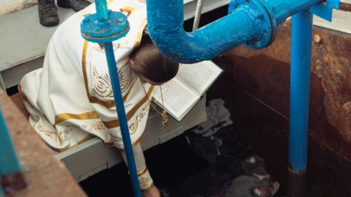 В Самаре освятят воду из-под крана