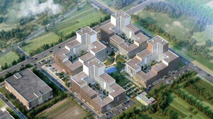 В районе Широкой Речки появятся квартиры с террасами и витражными окнами