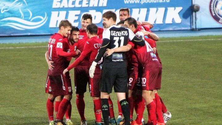 Уфимцы сыграли вничью с хабаровской командой «СКА»