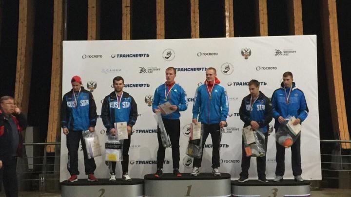 Новосибирец на быстром бобе завоевал две «бронзы» на первенстве России