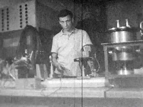 Ефим Пестряков в 1966 году