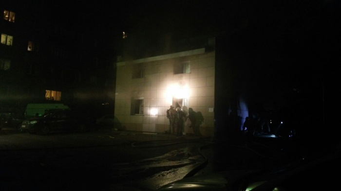 В ночь на 17 августа в Новосибирске выгорела баня на улице Дмитрия Шамшурина