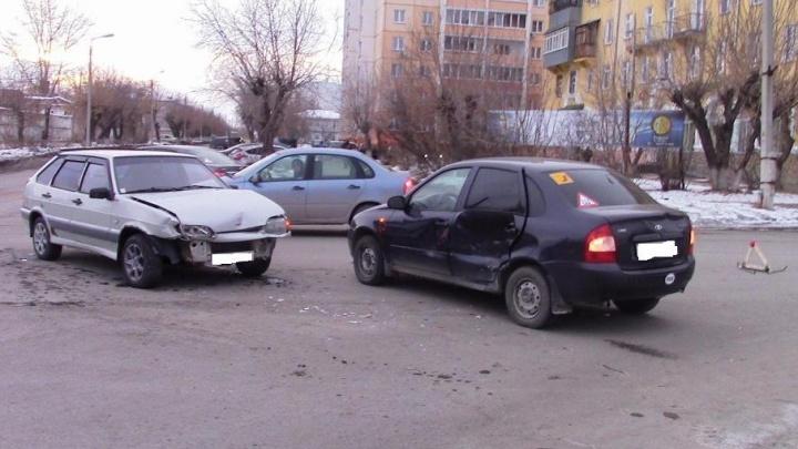 В аварии в Шадринске пострадал ребенок