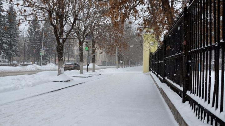 Погода в Башкирии: в воскресенье будет холодно и снежно