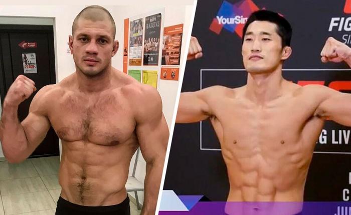 Соперником Ивана станет боец из Южной Кореи Хун Ким