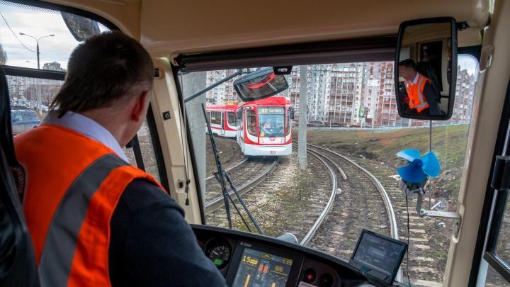 Стали известны сроки появления поворота трамваев из 15-го микрорайона на «Самара Арену»