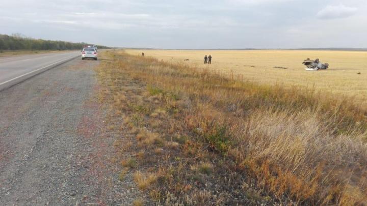 Иномарка «вылетела» в кювет: на трассе в Башкирии погиб житель Челябинской области