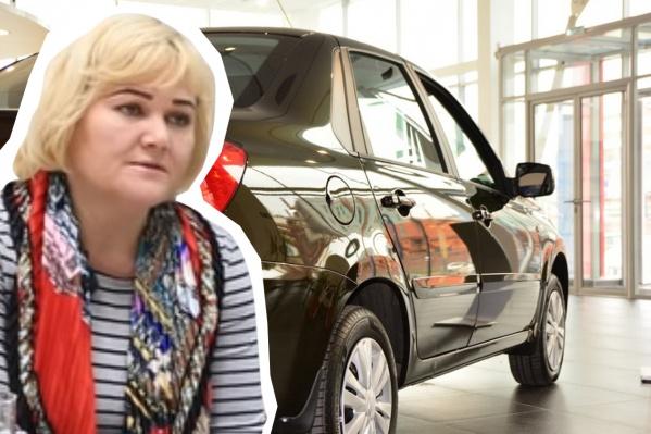Автомобиль Datsun on-Do Наталья купила год назад, заплатив за него на 100 тысяч больше дилерской цены, не считая переплаты по кредиту
