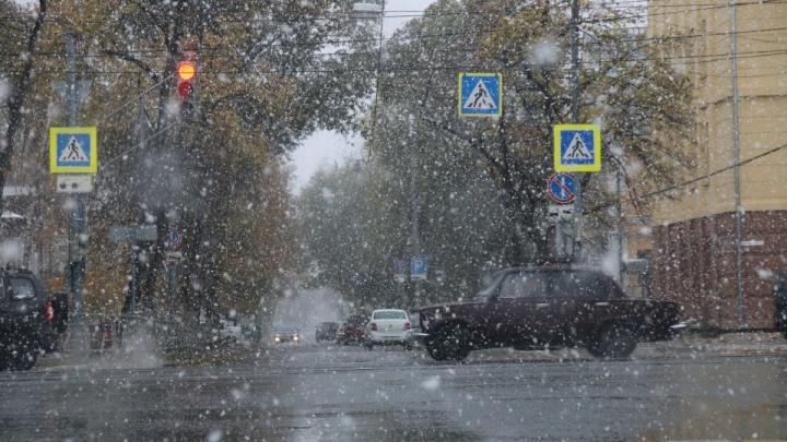 В День народного единства в Самарской области выпадет дождь со снегом