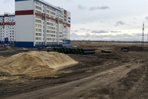 Дорога может стать продолжением строящейся улицы Мальцева