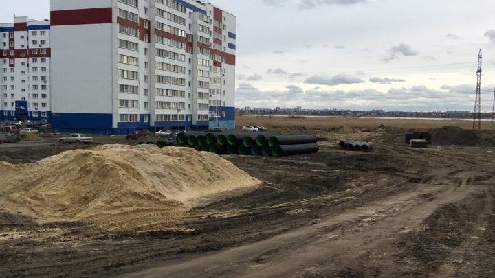 Курганцы просят построить временную грунтовую дорогу от поселка Левашово-2 до Заозёрного