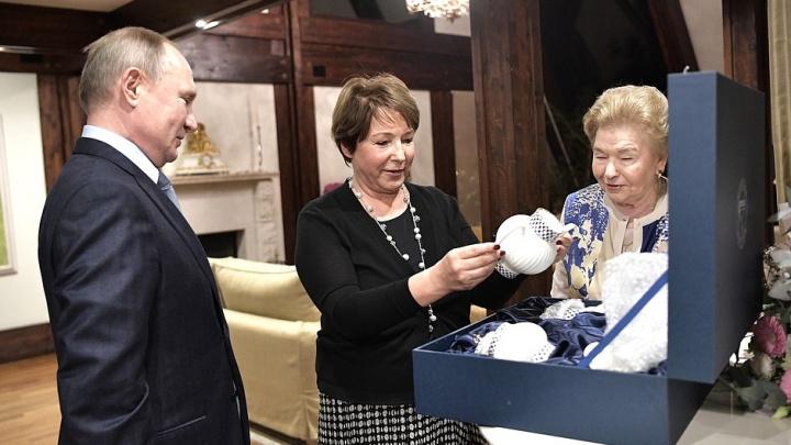 Путин заехал в гости к младшей дочери Ельцина, чтобы поздравить ее с днем рождения