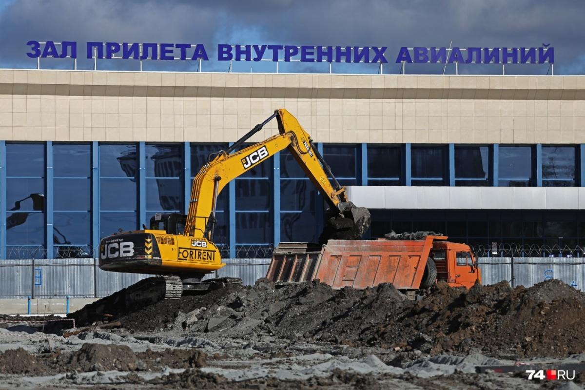 Масштабные работы по строительству нового терминала челябинского аэропорта закипели в середине прошлого года