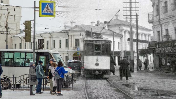 От конных повозок до троллейбусов с Wi-Fi: как изменился ярославский транспорт. Ретрофото
