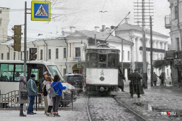 Вместе с трамваем и троллейбусом Ярославль пережил революции и другие повороты истории