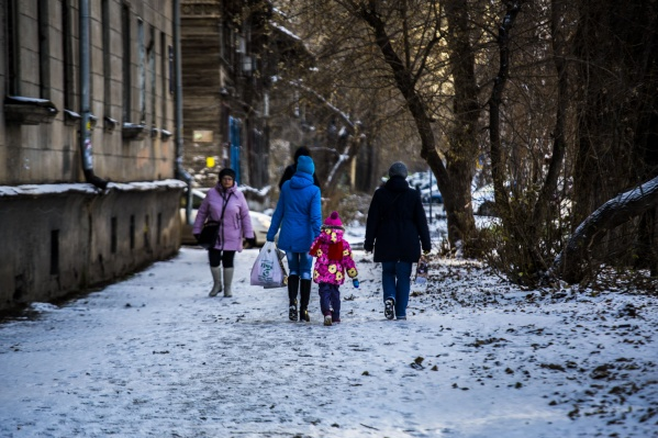 Снег в Новосибирской области скоро растает