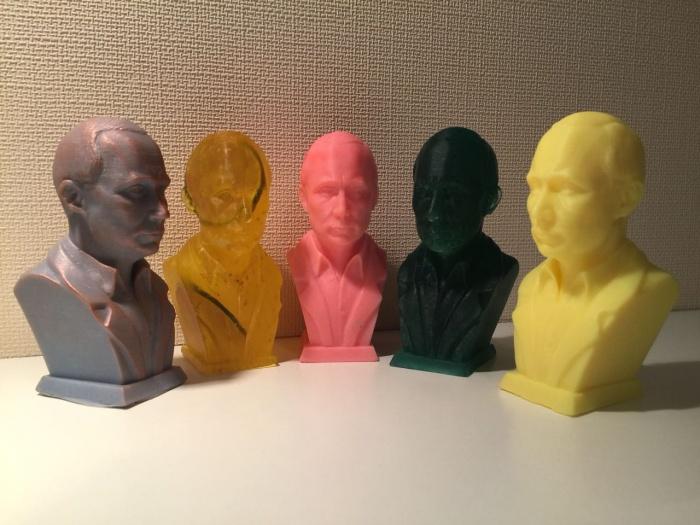 В первой партии президентского мыла пять ароматов