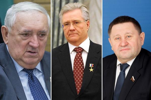 Степан Киричук, Владимир Богданов и Михаил Пономарев попали в новые санкционные списки