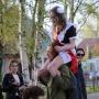 В прекрасное далеко — на плечах друга: фоторепортаж с праздника последнего звонка в Архангельске