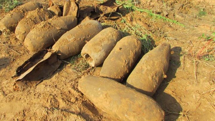 В Ярославле строители откопали снаряды, похожие на авиабомбы: подробности